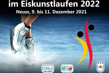Olympia-Qualifikation – Ticket-Verkauf für Deutsche Meisterschaften im Eiskunstlaufen 2022 in Neuss gestartet