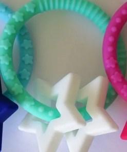 Mint star teether