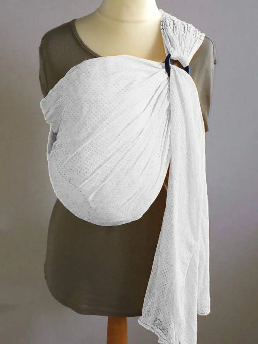 White water ringsling displayed on a mannequin