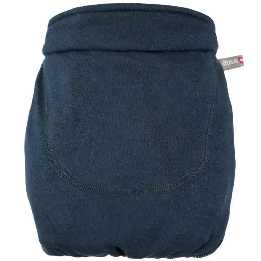 Close Caboo +Organic Striped (yarn dyed) - Midnight_Bag