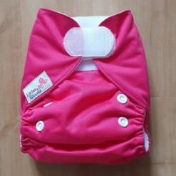 Pink Littles & Bloomz newborn nappy