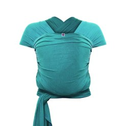 Teal bamboo stretchy wrap