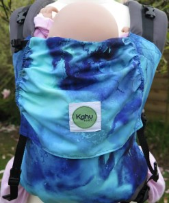 Blue marbled Kahubaby Seafoam Carrier