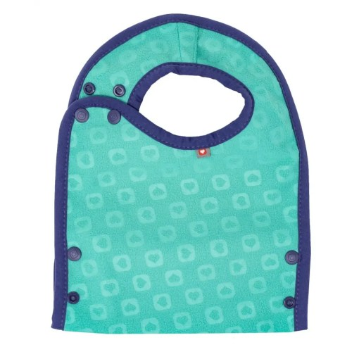 Rear of Close Pop-in Bib showing soft backing