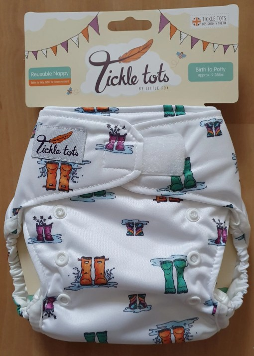 Wellies Tickle Tots Nappy