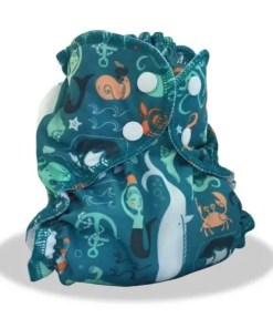 Ocean Playground BTP envelope nappy