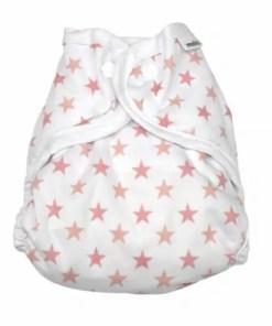 Muslinz Pink Star Size 1 Wrap