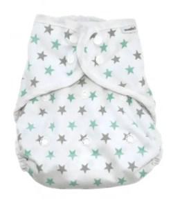 Muslinz Green Star Size 2 Wrap