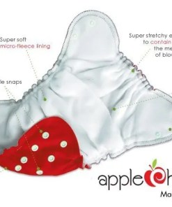 Features of the Applecheeks nappy
