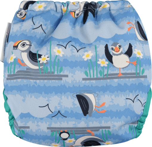 Rear of Close Pop-in Puffin Gen V2 Nappy