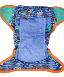Internal view of Close Pop-In V2 Nappy POPPER Twilight Garden