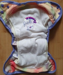 Internal view of the Little Lovebum Everyday AIO nappy