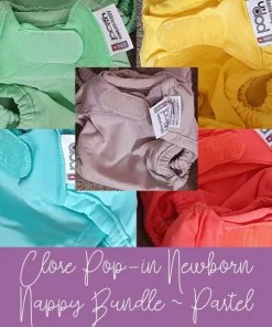 Close Pop-in pastel nappy bundle