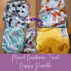 Bundle of 5 Mixed Newborn Nappies