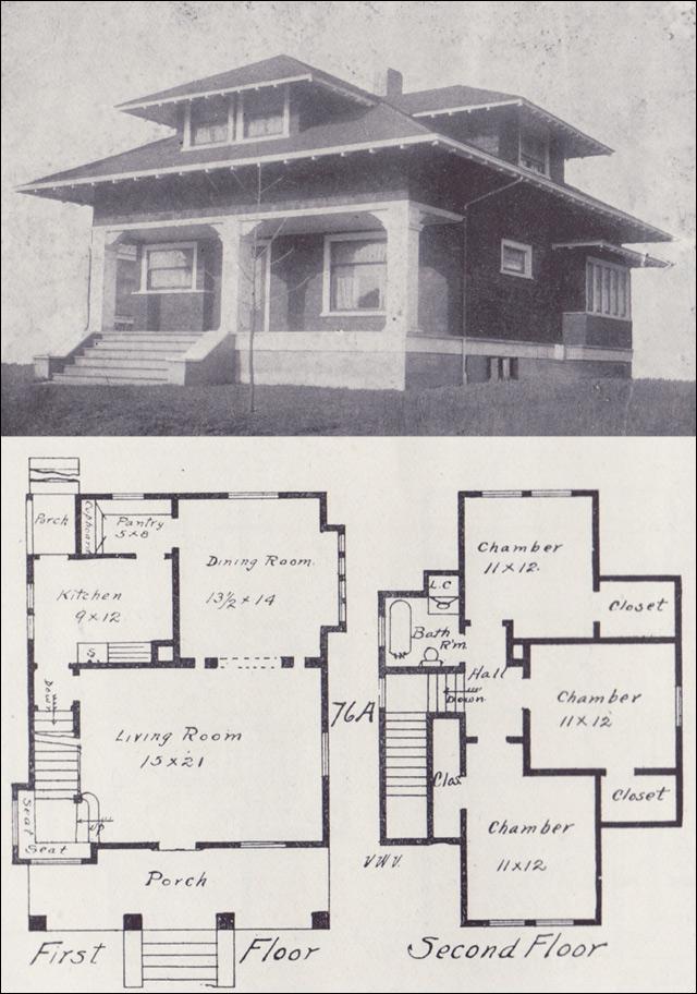 Craftsman Farmhouse Plans