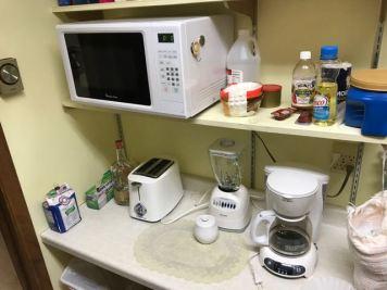 Microwave, Toaster, Blender, Coffee Maker