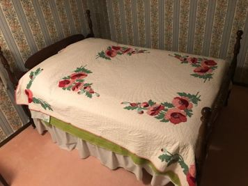 Full Size Bed (quilt not included)