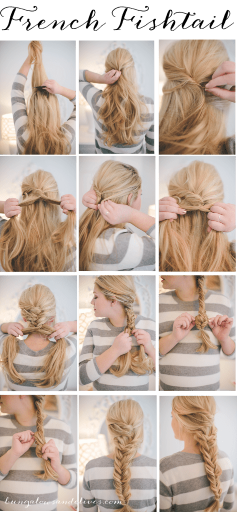 French Fishtail – Hair Tutorial