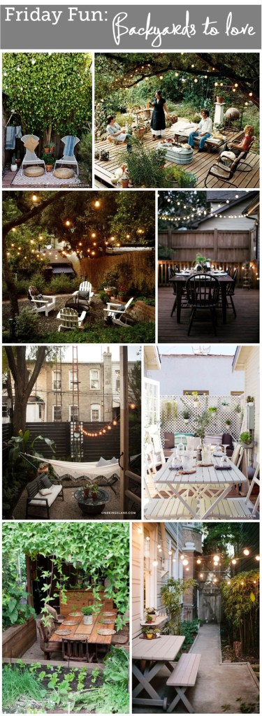 Friday Fun: Backyards to love