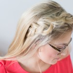 Braided Back Bangs – Hair Tutorial