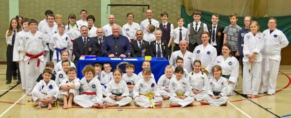 Bungay Taekwondo Grading March 2018