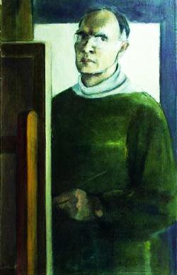 1916-1981 Vasile Brătulescu Autoportret