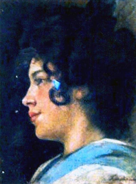 Portrait of Zizi Cioflec