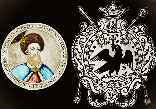 1700 Constantin Brâncoveanu Cavaler Al Ordinului Sf. Andrei