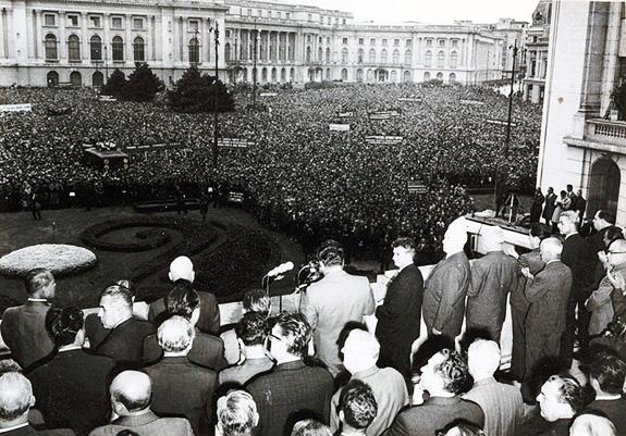 1968 Miting De Protest împotriva Ocupării Cehoslovaciei