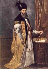 1695-1752 Grigore Al Ii-lea Ghica Portret De Theodor Aman