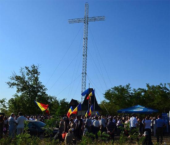 2011 Crucea Mântuirii Neamului Românesc, Nisporeni