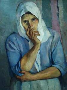 Peasant Woman Portrait