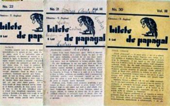 1928 Bilete De Papagal