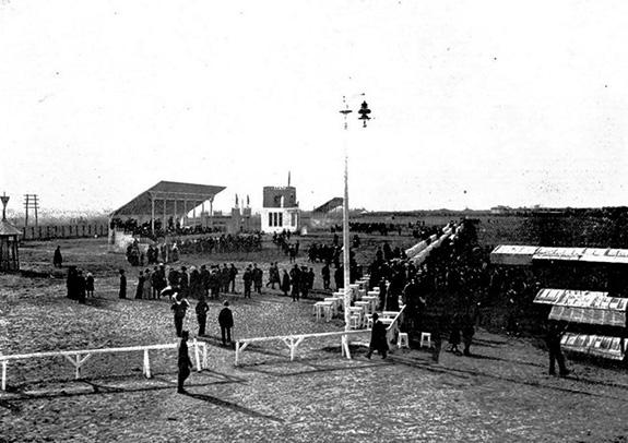 1910 Aerodromul de la Chitila