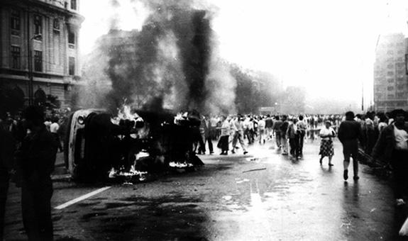 1990 Piața Universității 13 iunie