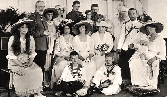 1914 Familia Imperială rusă și Familia Regală română