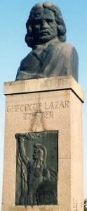 Gheorghe Lazăr. Bust de Corneliu Medrea, 1938. Avrig