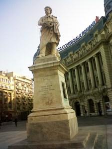 Gheorghe Lazăr. Sculptură de Ion Georgescu, 1896. București