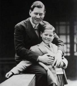 Carol al II-lea cu Mihai (1930)