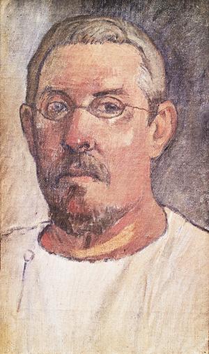 Paul Gauguin. Self Portrait, 1903