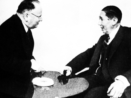 1934 Nicolae Titulescu şi Maxim Litvinov