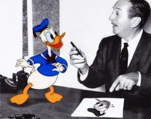 Donald Duck & Walt Disney