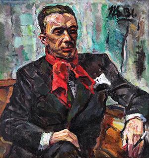 Păstorel Teodoreanu. Portret De Hans Eder Din 1936