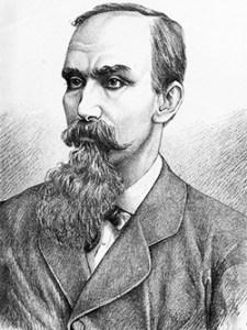 Theodor Rosetti. Desen de D. William (1837-1923)
