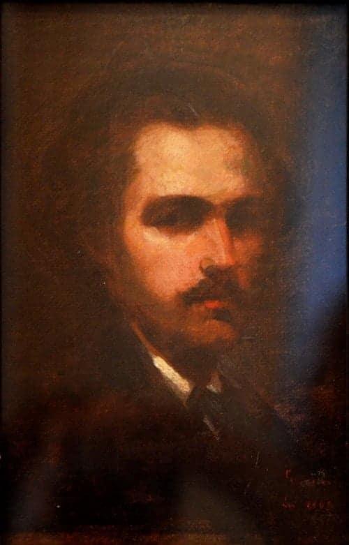 Nicolae Grigorescu - Autoportret, 1863