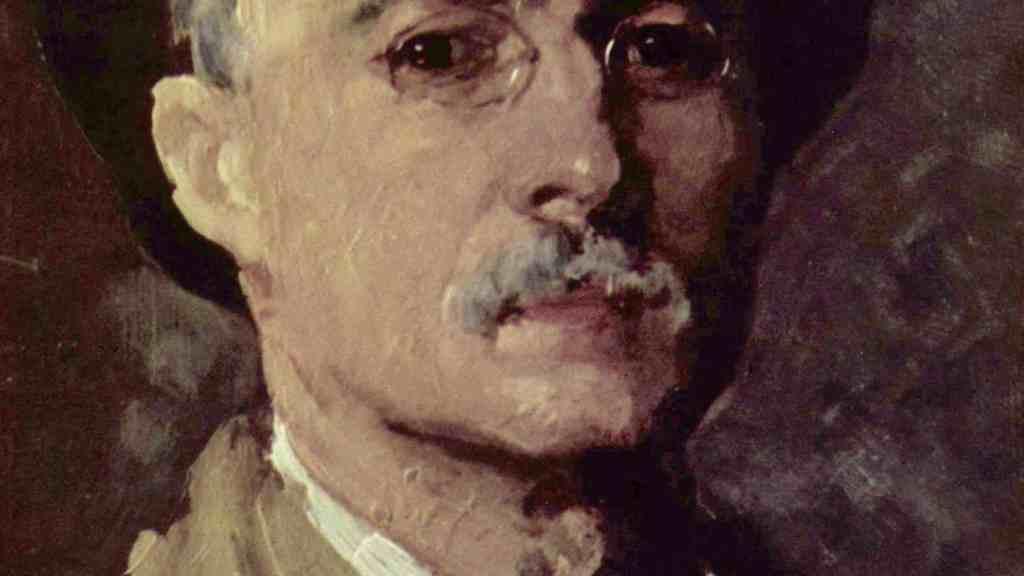 Nicolae Grigorescu Self Portrait