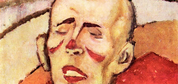 NicolaeTonitza - Clovn-Clown-detail