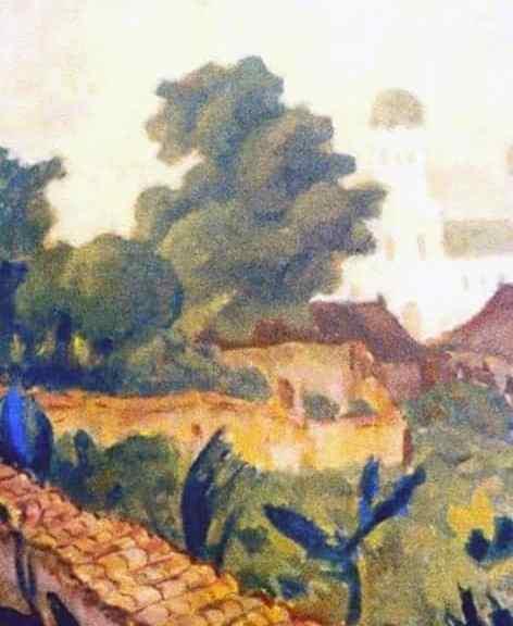 Landscape from Mangalia (Impression from Mangalia)