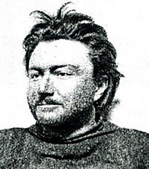 Emil Racoviţă on Belgica, 1947