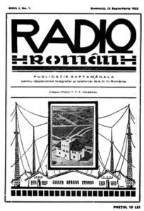 1925 Prima Publicație Radiofonică, Radio RomÂn
